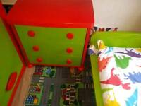 childs bedroom furniture bed draws wardrobe