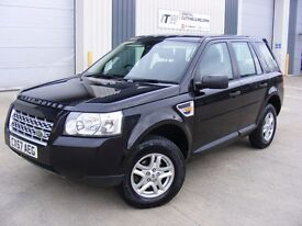 2007 57 Freelander 2, 2.2 Turbo Diesel TD4, Cambelt Changed, Two Keys, Met Black with Black Cloth