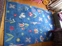 Large colourful carpet