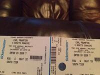 2 tickets for Frampton vs Donaire, less than face value for quick sale.