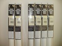 ROLLER BLINDS (VARIOUS COLOURS & SIZES SEE DISCRIPTION FOR MORE INFORMATION)