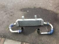 Vauxhall corsa vxr front mounted intercooler and hoses £200