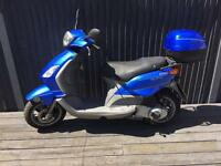 Piaggio fly 125cc one year mot full logbook original owner pack 695 Ono
