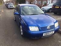 VOLKSWAGON BORA 2.0 PETROL / MANUAL / FULL 1 YEAR MOT / SERVICE HISTORY / MECHANICALLY PERFECT £895