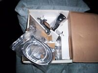 BATHROOM TAPS AND SHOWER MIXER- BRAND NEW STILL IN BOX