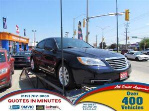 2012 Chrysler 200 TOURING | SAT RADIO | ALLOYS