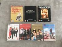 DVD Boxsets - Various Comedy Series