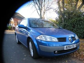 2005 Renault Megane Convertible - Nice car, 6 speed sport engine £550