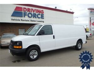 2016 GMC Savana 2500 Extended Cargo Van Rear Wheel Drive, 4.8L