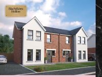 Larne, Brand New Build 3 Bed semi detached house to Re