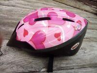 Girls Bike Helmet 50-55cm (ages 6-10)