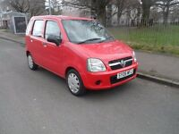 VAUXHALL AGLIA 998CC MOT FULL YEAR TAX SAME OUT STANDING ONE OWNER GREAT WEE CAR