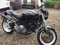 2007 DUCATI MONSTER S4R 996cc Full MOT til June 2018 and Low Mileage