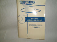 TRIUMPH TIGER CUB WORKSHOP MANUAL