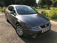 SEAT LEON 1.6 Diesel Automatic, Tech pack, Sat Nav, Xenon headlights. 18 month manufacturer warranty