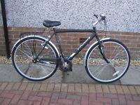 """Raleigh Varsity Mens 22"""" Bike."""