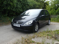 peugeot 307 1.4 envy . 5 door electric windows cd sirvice history clean and tidy mot april 17