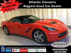 2014 Chevrolet Corvette Stingray 2LT 455 HP