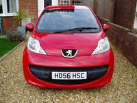 peugeot 107 urban one lady owner from new excellent condition