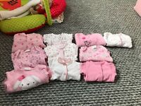 Baby girl Tiny Baby clothes bundle