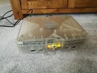 Microsoft Original Xbox Crystal Console for spares/repair
