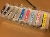 Epson P600 Ink Cartridges from New Boxed Printer