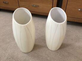 Cream Vases