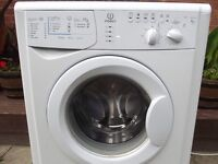 INDESIT 6KG WASHING MACHINE FULLY REFURBISHED COMES WITH 3 MONTHS WARRANTY