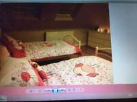 Single girls beds