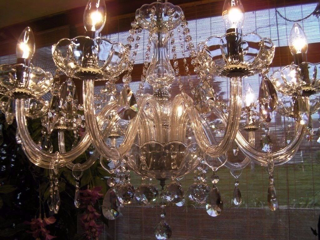 ABSOLUTELY BEAUTIFUL~ Pure Lead Crystal chandelier VERY LARGE   in ...