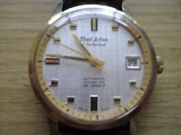 RARE VINTAGE PAUL JOBIN AUTOMATIC WATCH.