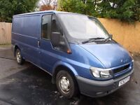 2002 52 FORD TRANSIT 2.0 280 100BHP UP OVER REAR DOOR IDEAL CAMPER 8 STAMPS GOOD SEATS PX SWAPS