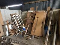 Doors - for fire wood