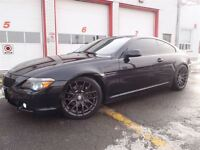 2004 BMW 645 Ci, NAV, Blutooth, PERF. EHAUST & DROPED / full ga