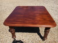 Victorian antique extending dining table