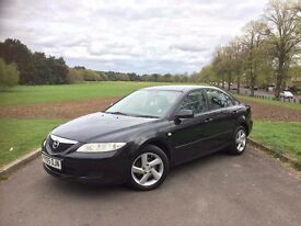 2005/05 MAZDA 6 TS 2.0 MANUAL, 5 DOOR SALOON**FULL SERVICE HISTORY**NEW MOT
