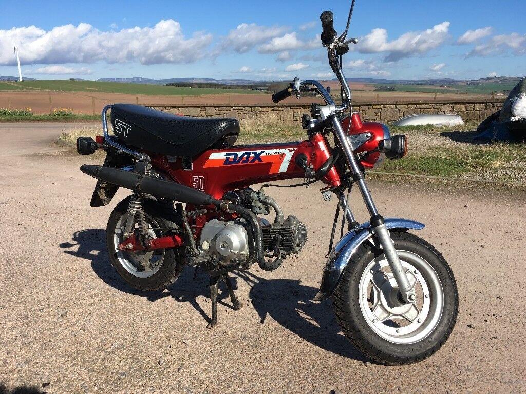 Genuine Honda Dax St50j Monkey Bike 49cc Original In Montrose St70 Wiring Diagram