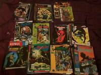Large box of comics/graphic novels/annuals for swap