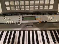 Yamaha EZ200 Electronic Keyboard and stand
