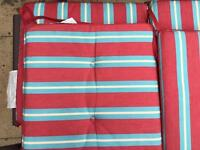 Garden Patio Chair Cushions striped