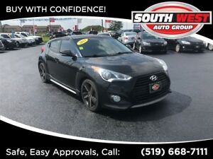 2013 Hyundai Veloster Turbo FULLY LOADED.