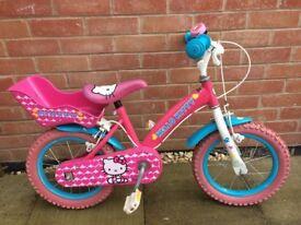 "14"" Hello Kitty bike"