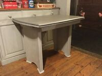 Shabby chic vintage extending dining table