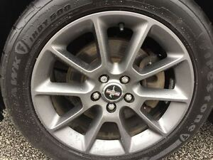 2012 Ford Mustang V6 Leather Winter Tires/Rims, Auto Windsor Region Ontario image 10