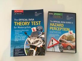 DVLA theory test for MOTORCYCLISTS and hazard perception dvd CARS/MOTORCYCLE