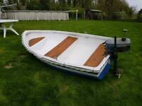 8ft dinghy with outboard
