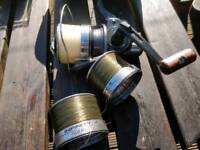 Daiwa infinity BR 5500 x 2-off & Daiwa infinity BR 5000 x 1-off with spare spools