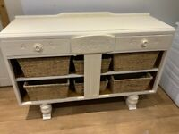Farmhouse style sideboard shabby chic