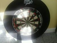 League Standard Dart Board & Ring