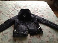 Women's/girls jacket size 8 never warn